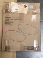 2 Honeywell LED Light and 2 blinds