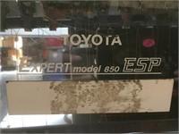 Toyota Expert 850 ESP Embroidery Machine