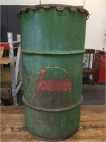 Vintage Castrol 'Lubricants' 16 Gallon Oil Can