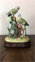 Porcelain Jonathon Byron Bird Music Box