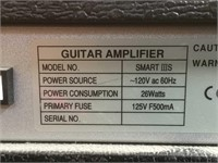Silverstone Smart III's guitar amp, 26 watts