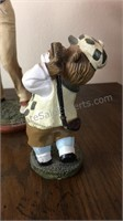 Collection of Golf Figurines