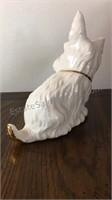 Vintage Ceramic Westie Dogs