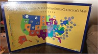 State Quarters Map Set