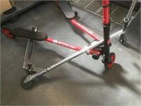 Flicker F3  and razor scooter