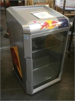 Redbull small fridge, doesn't power on, as-is,