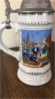 German Gerz Beer Stein
