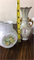 Lot of Porcelain Vases & Covered Dish