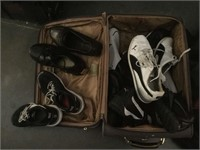 Large lot of assorted size shoes