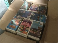 Lot of assorted Walt Disney VHS And more