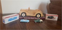Wooden Classic Car and More