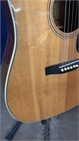 D'agostino 6-string Acoustic Guitar W/ Case