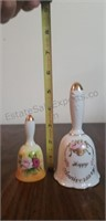 Lefton China and Glass Bells