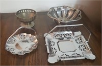 Metal Trays and Bowls