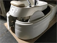 The Mirai Pipeless Spa pedicure chair with
