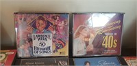 Assorted CDs and DVDs