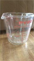 Pyrex Measuring Cups (one is Chipped)