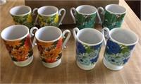 Lot of Vintage Mugs