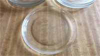 Lot of 7 Glass Plates