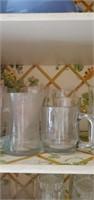 Drinking Glass Misc Shelf Lot