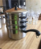 Stacking Pot Steamer / Double Boil
