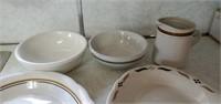 Mismatched Dish Lot
