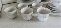 Four Crown China Claridge Service for 6