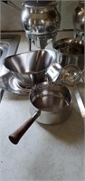 Stainless Serving Lot