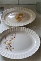 Vintage Edwin Knowls Platters