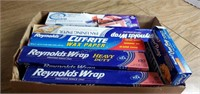 Assorted Kitchen Wraps & Bags