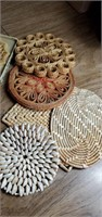 Assorted Trivets, Trays, Coasters
