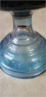Blue Base Kerosene Lamp
