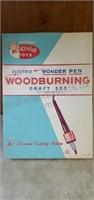 Vintage Teach'N'Fun Wood Burning Set Complete
