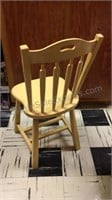 Painted Wood Chair