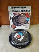 Vintage Burton Stove Top Grill