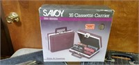 Vintage Cassette Carriers W/ Recorded & Blank