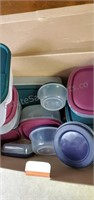 Assortment of Kitchen Containers