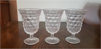 Etched Glassware and Pitcher Set