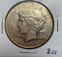 August  Online Only Coin Auction