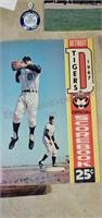 Vintage Detroit Tigers Mug & Ephemera
