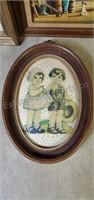 Vintage Framed Print Lot