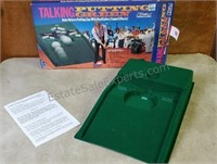 Vintage Talking Putting Green W/ Original Box