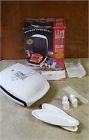 Vintage George Foreman Lean Mean Fat Grilling
