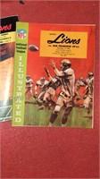 Lot of NFL Lions Programs