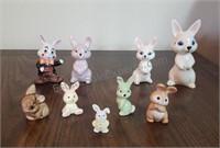 lot of Bunny Figurines