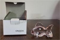 Oneida Pink Crystal Fish