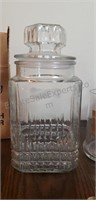 Assorted Glass Jars, Candleholders, and More