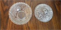 Crystal Dishes with Lids