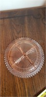 Etched Glass Serving Dishes
