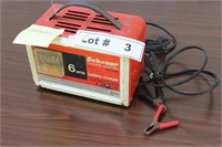 SCHAUER BATTERY CHARGER - WORKS